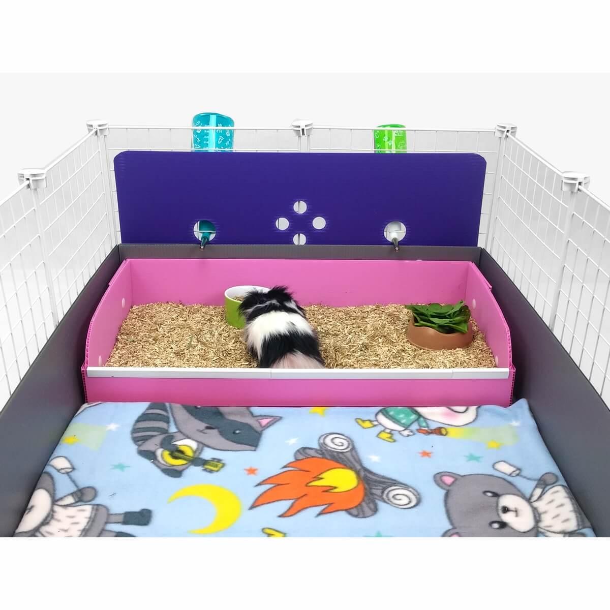 Cavy Backsplash For Kitchen Area C Amp C Guinea Pig Cage