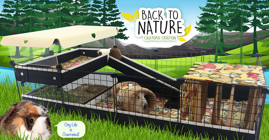 Back To Nature Cagetopia Creations