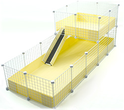 Best Deluxe Guinea Pig Cage