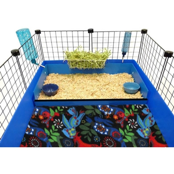 Cavy cafe kitchen for Coroplast guinea pig cage for sale