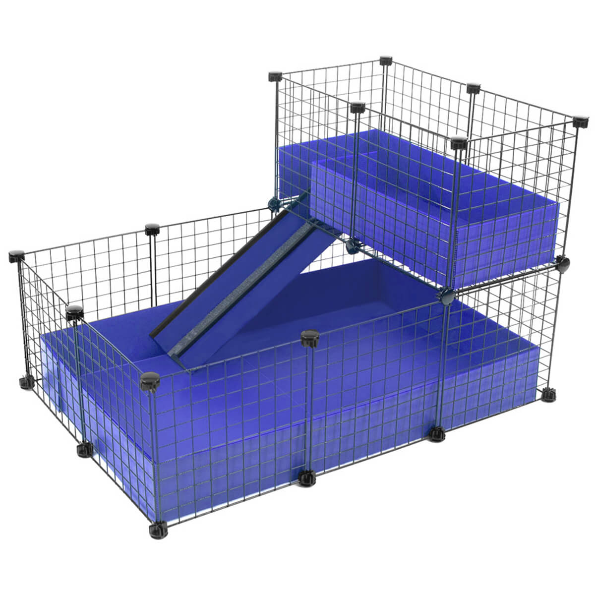 Small 2x3 grids loft deluxe cages c c cages for for Making a c c cage