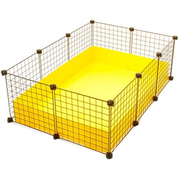 Small 2x3 grid c c guinea pig cage for Buy guinea pig cage