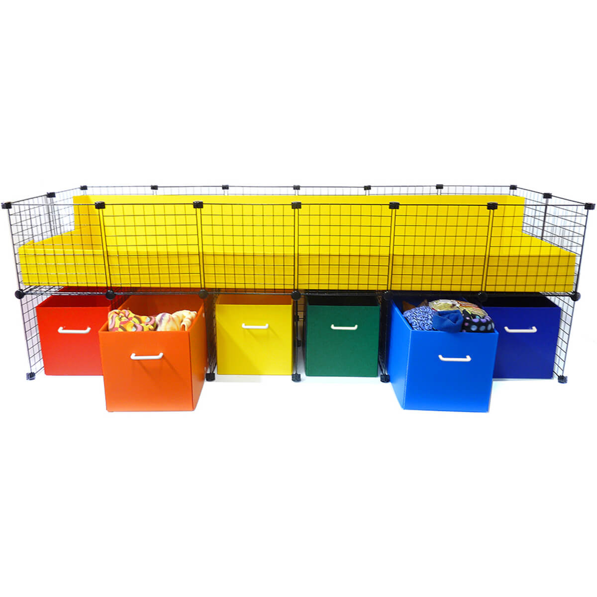 Jumbo Cubby with bins out