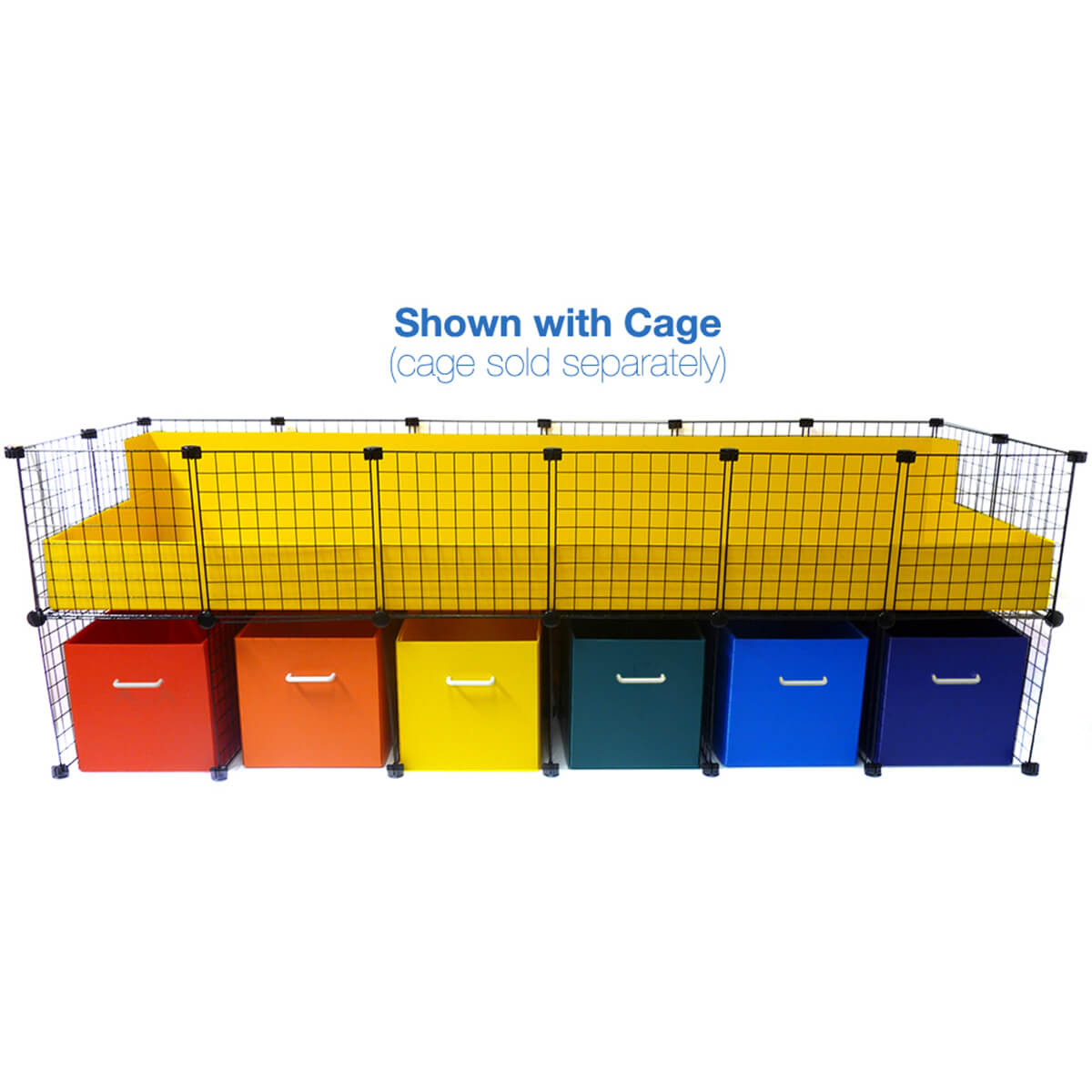 Jumbo Cage Cubby System