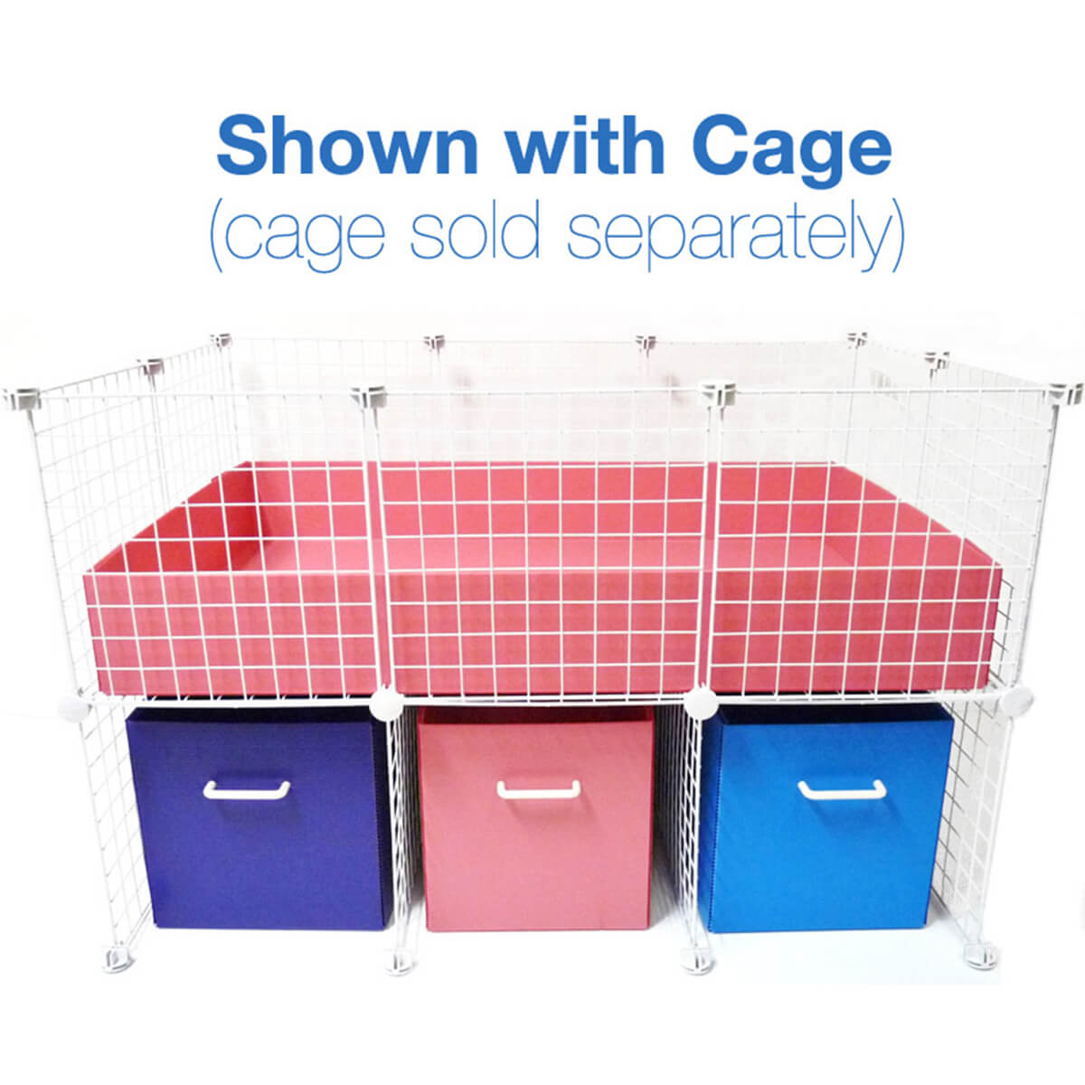 cage supply stand   small 2x3 grids
