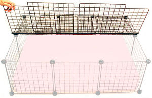 small covered cage