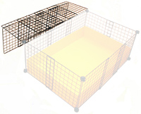 cage with cover