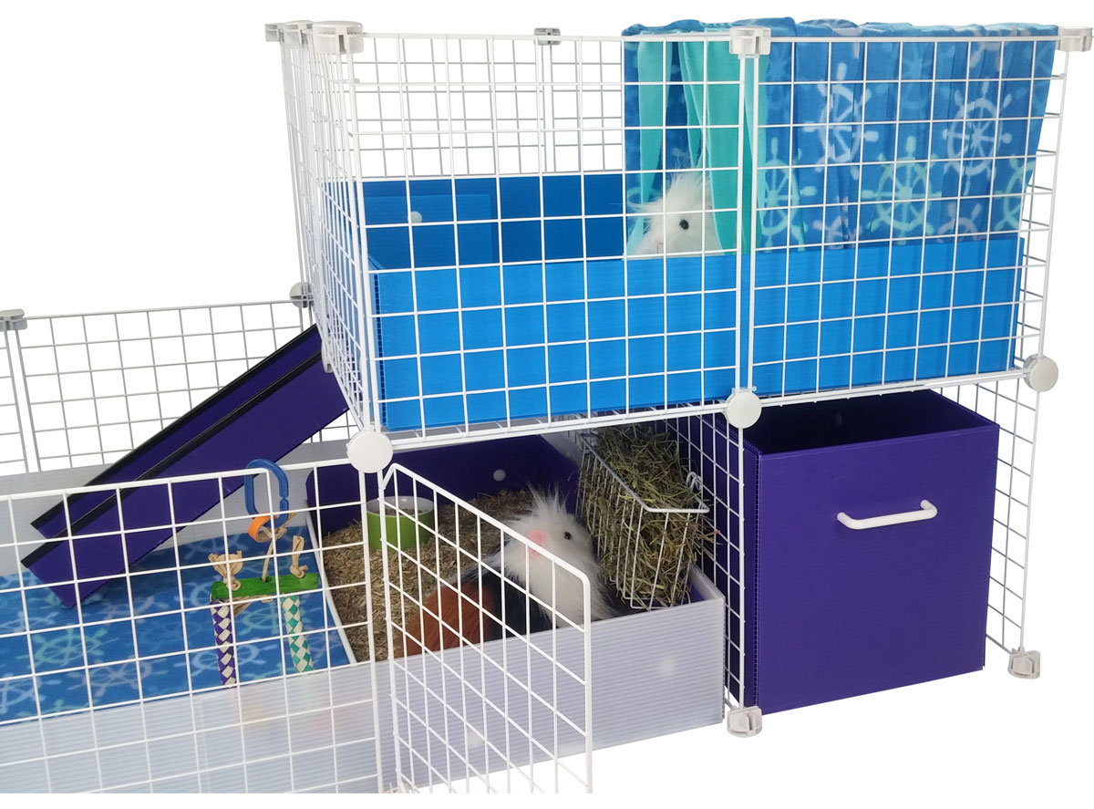 C&C Cage with Swing Grids from Guinea Pig Cages Store