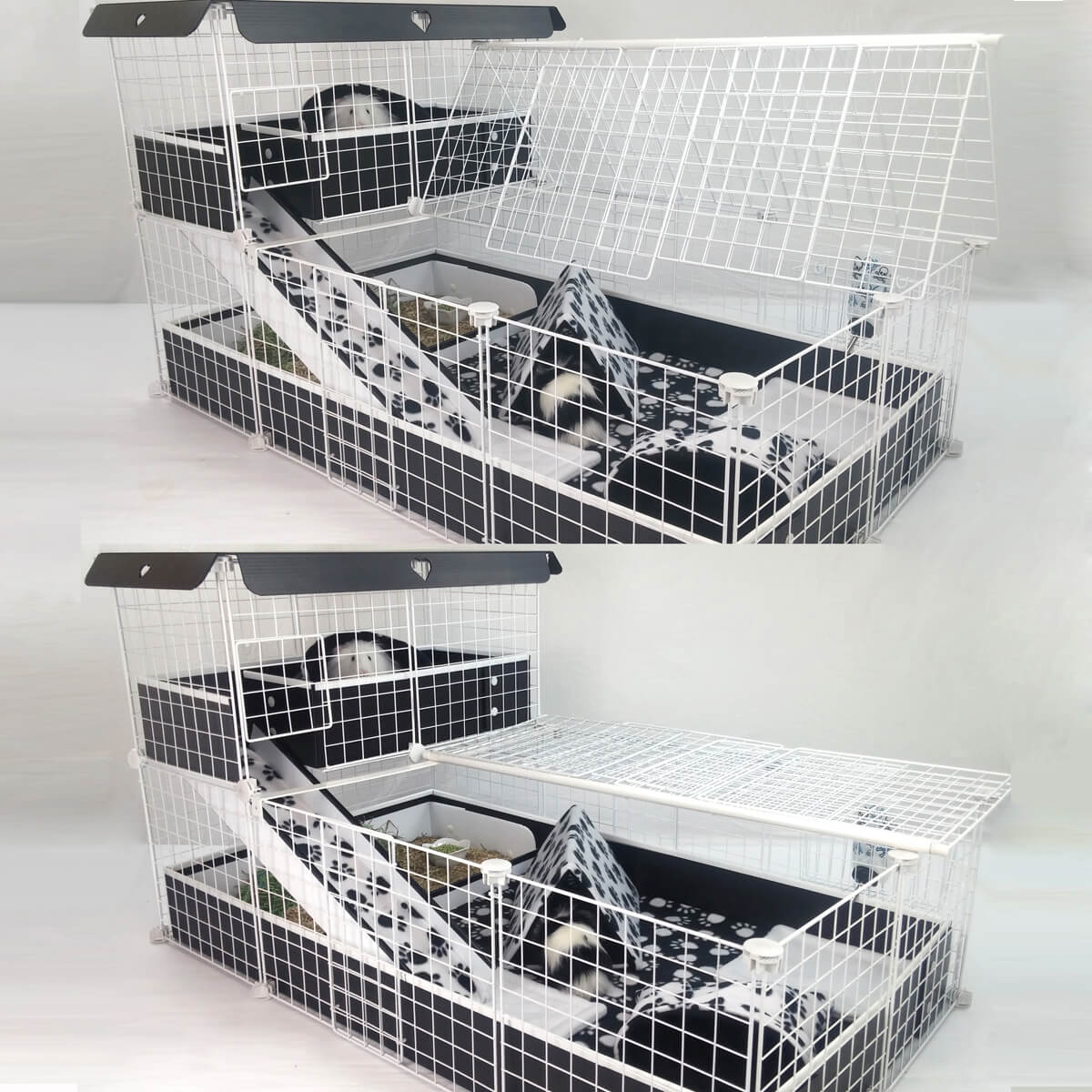 Cavy Chic Cagetopia Creation with optional Flip Fold Cover