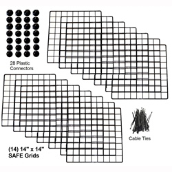Cagetopia Grid Set for XL 2x5 C&C Guinea Pig Cage