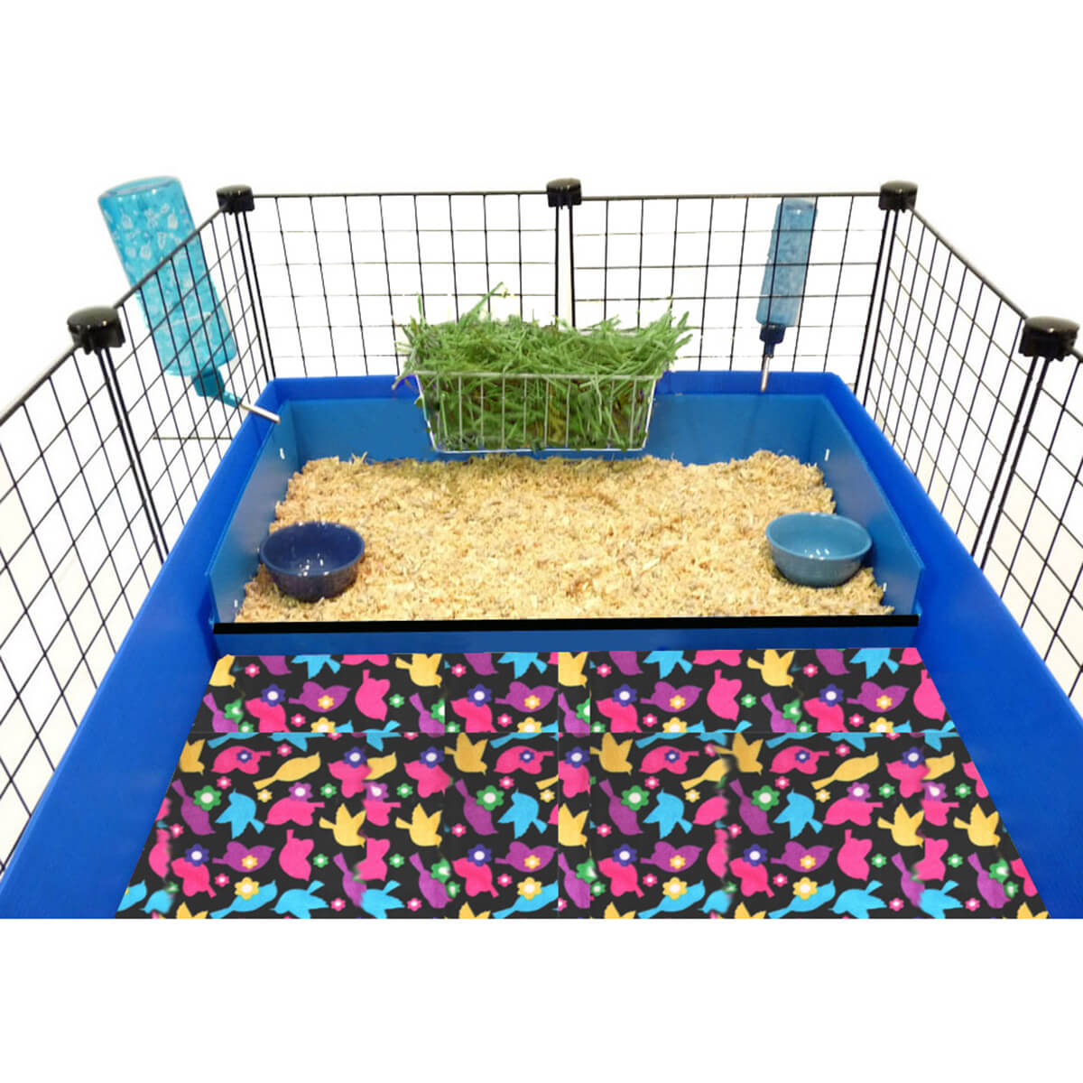 how to cut coroplast for guinea pig cage