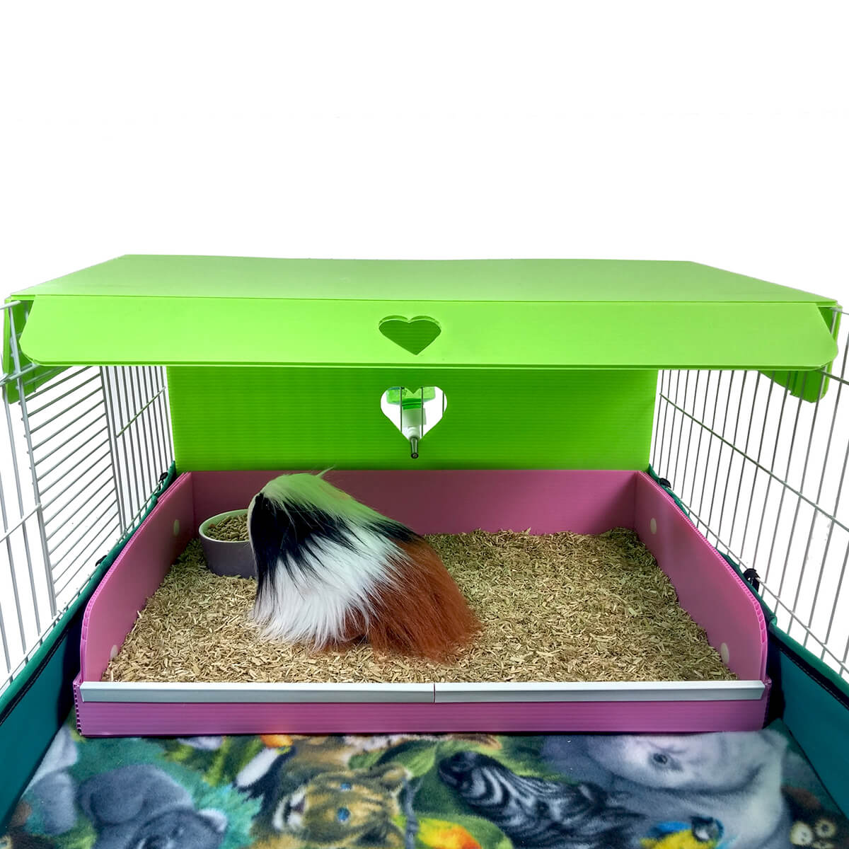 Midwest diner cavy canopy and cavy backsplash for your for Guinea pig cage for 3