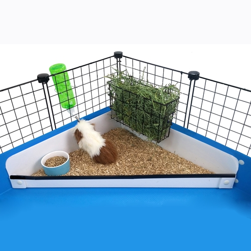 Corner Kitchen for guinea pig cages