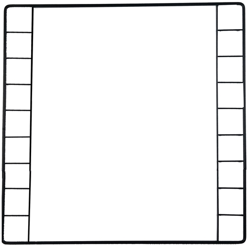 Door Grid for Guinea Pig C&C Cages, provides support yet passage for guinea pigs
