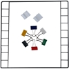 Kit Includes (1) Door Grid 9x9 inner squares with 7x9