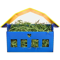 Hearty Hay Barn - CLEARANCE Hearty Acres Hay Barn for Guinea Pigs on Clearance: Cute hay bin to help keep the hay contained, but give ample access for your piggies.