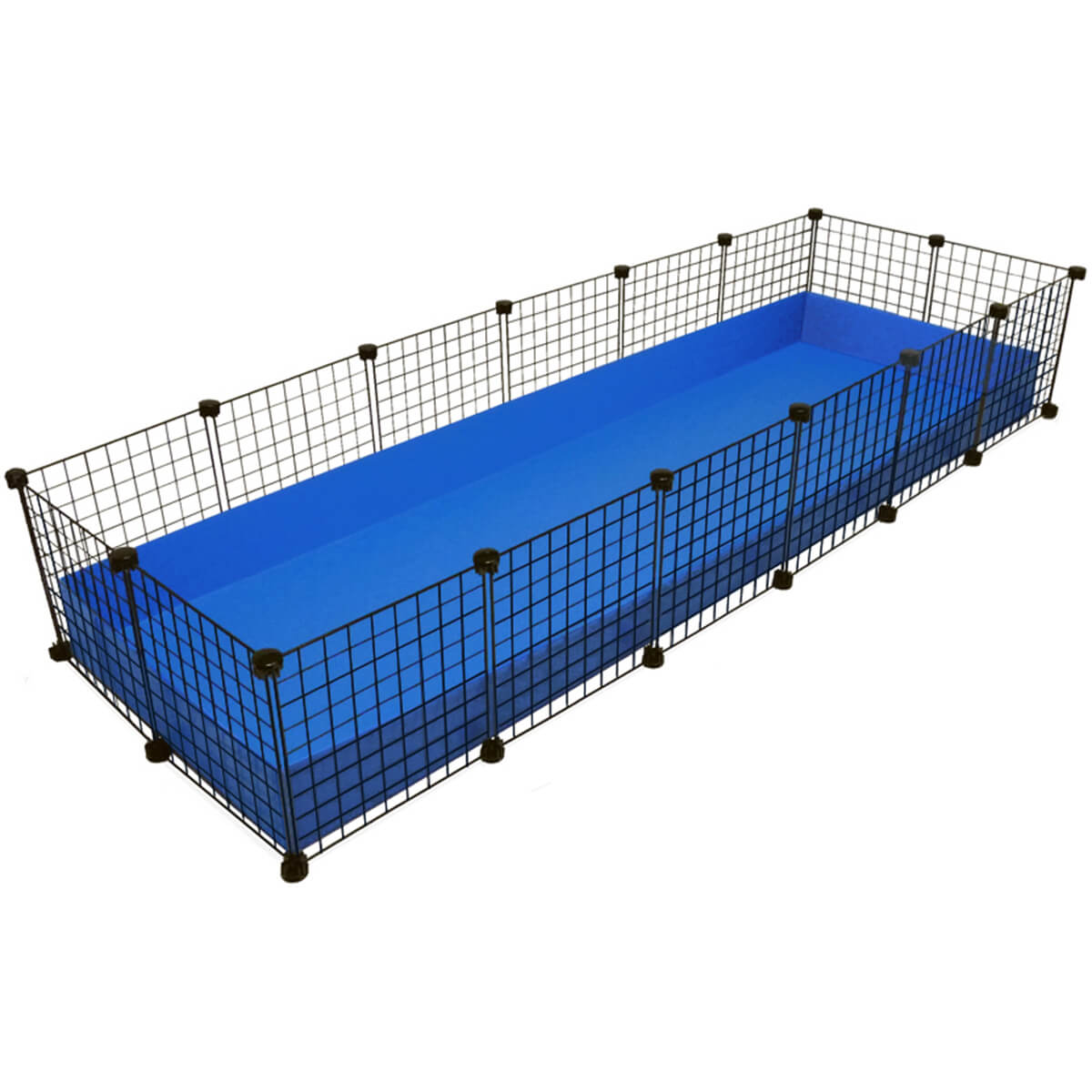 Jumbo (2x6 grids) C&C Guinea Pig Cage by Cagetopia