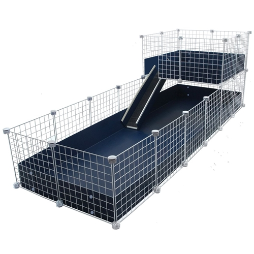 Cagetopia Jumbo with a Wide Loft, 2x6 grids