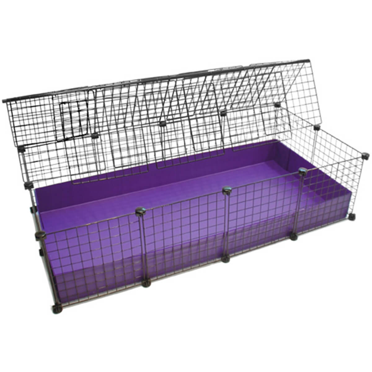 Large 2x4 grids covered standard covered cages c c for Where to get c c cages