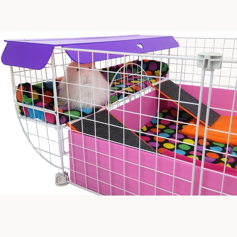 Lookout lounge for cagetopia c c cages for Coroplast guinea pig cage for sale