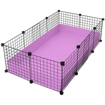 Medium 2x3 5 grids cage standard cages c c cages for for Coroplast guinea pig cage for sale