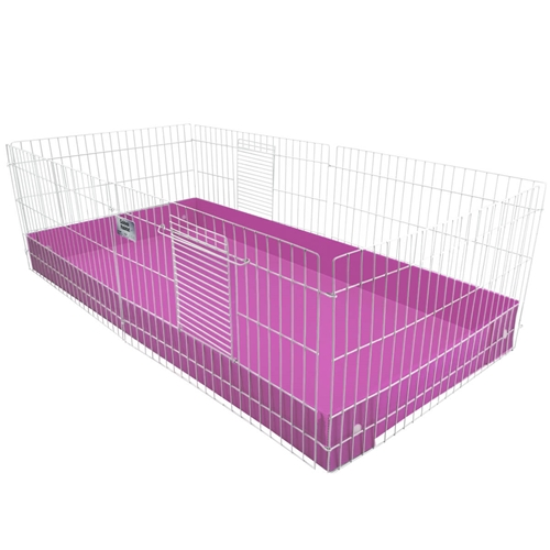 Coroplast Base for a Midwest Habitat Guinea Pig Cage
