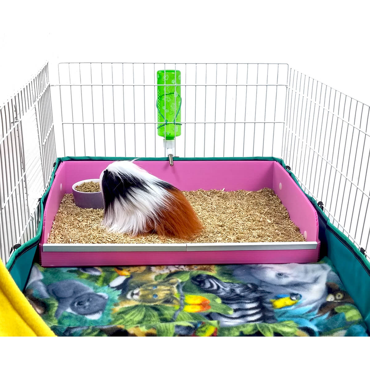 Midwest Guinea Pig Cage DINER for hay and bedding