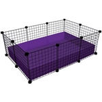 Small (2x3 Grids) Cage guinea pig, cages, 2x3 grids