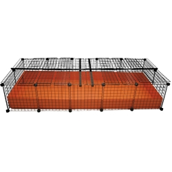 2x5 grid covered C&C Cagetopia Cage