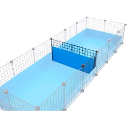 Wall of Silence, guinea pig cage divider