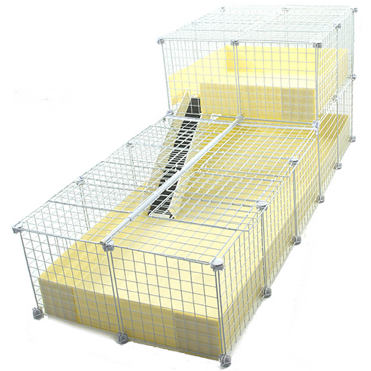2x5 C and C Cage, covered with 2x2 loft