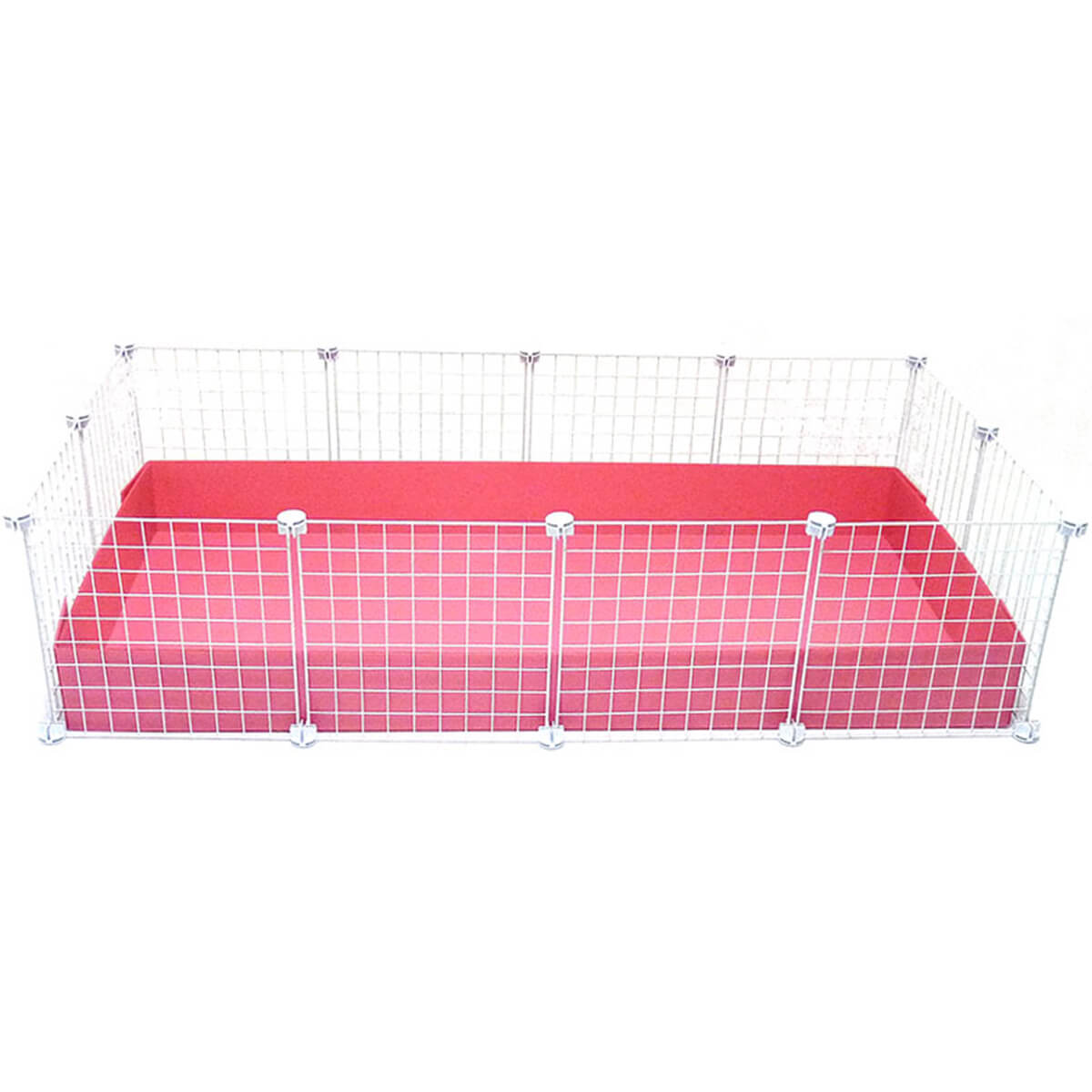 Large 2x4 grids cage clearance cages c c cages for for Coroplast guinea pig cage for sale