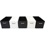 Bins for XL Cage - black and white