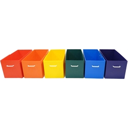 Bins for Jumbo Cage - rainbow