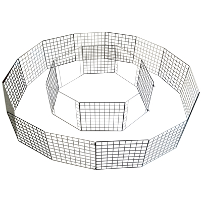Portable Piggy Play Center using Cagetopia Grids